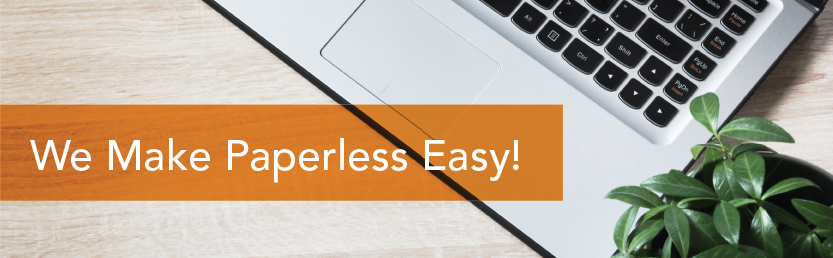 We Make Paperless Easy